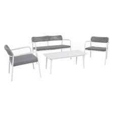 4 Seater Oslo Aluminium Outdoor Sofa Set