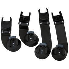 2 Piece Indie Twin Baby Car Seat Capsule Adaptor Set (Set of 2)