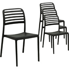 Wright Outdoor Dining Chairs (Set of 4)