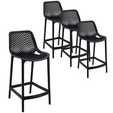 65cm Gia Outdoor Barstools (Set of 4)
