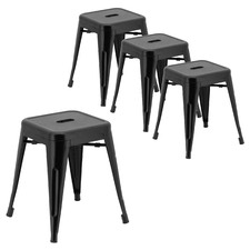 45cm Einna Tolix Inspired Stools (Set of 4)