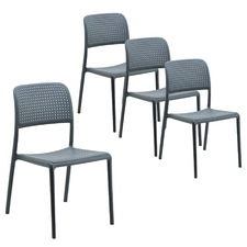 Alina Outdoor Dining Chairs (Set of 4)