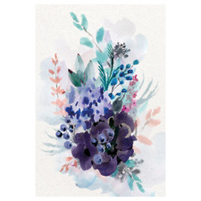 Blended Bouquet Acrylic Wall Art