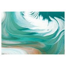 Marshmallow Swirl Canvas Wall Art