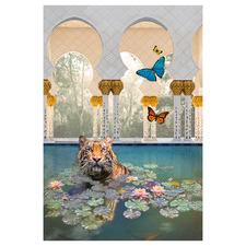 Pool Of Enchantment Canvas Wall Art
