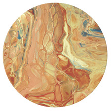 Romanticism In Armour Round Acrylic Wall Art