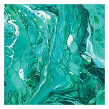 Life Is A Mystery Emerald Square Acrylic Wall Art