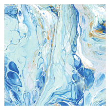 Trepidation Of The Ocean Square Acrylic Wall Art