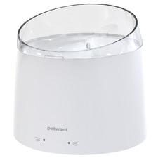White Petwant 1.5L Pet Water Fountain