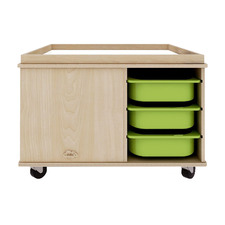 Activity Play Table with Storage Bins
