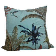 Hummingbird RocoColonial Velvet Cushion