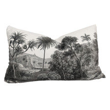 Java RocoColonial Rectangular Velvet Cushion