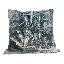 Riverbank RocoColonial Square Velvet Cushion