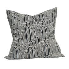 Artisan Block Printed Spirit Rock French Linen Cushion