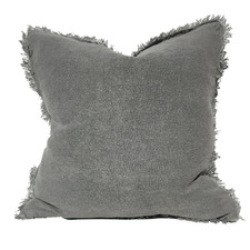 Matera Stonewashed French Linen Cushion