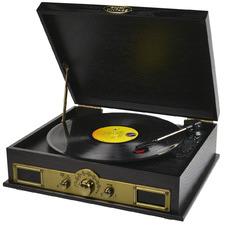 Mbeat Vintage USB Turntable with Bluetooth Speaker & AM/FM Radio