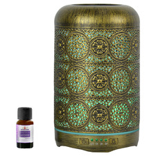 260ml Metal Aroma Diffuser with Essential Oil