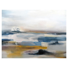 At The Seashore Stretched Canvas Wall Art