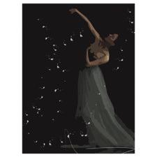 Firefly Twirl Printed Wall Art