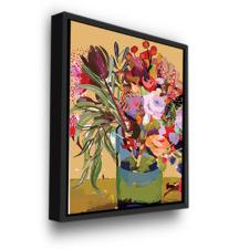 Bouquet Glass Printed Wall Art