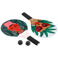 5 Piece Jungle Rumble Beach Paddle Set