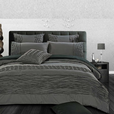 Grey Luxton Cecilio Quilt Cover Set
