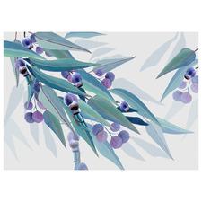 Jarrah Dreaming White Australian Eucalyptus Printed Wall Art