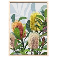 Saltbush Australian II Banksia Printed Wall Art