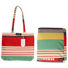Stripe Avalon Picnic Blanket & Bag