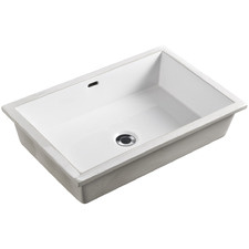 Oslo Rectangle Undermount Bathroom Basin