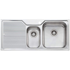 Nu-Petite Right Hand 1.5 Topmount Kitchen Sink with Drainboard