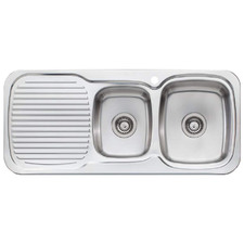 Lakeland Right Hand 1.75 Kitchen Sink with Drainboard