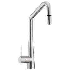 Essente Square Gooseneck Pull Out Kitchen Mixer