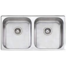 Nu-Petite Double Undermount Kitchen Sink