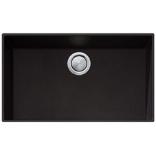 Black Santorini Mega Undermount Kitchen Sink