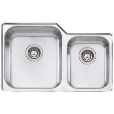Nu-Petite Left Hand 1.75 Undermount Kitchen Sink
