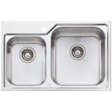 Nu-Petite Right Hand 1.75 Topmount Kitchen Sink