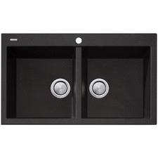 Santorini Double Topmount Kitchen Sink
