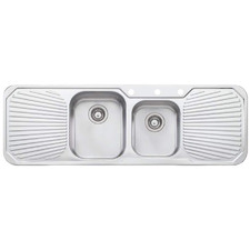 Petite 1.75 Kitchen Sink with Double Drainboard