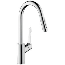 Hansgrohe Cento Variarc Pull Out Spray Kitchen Mixer