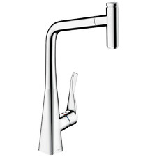 Hansgrohe Metris Select 320 Pull Out Kitchen Mixer