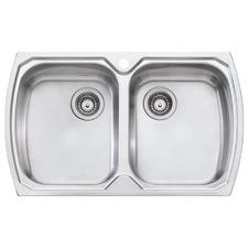 Monet Double Topmount Kitchen Sink
