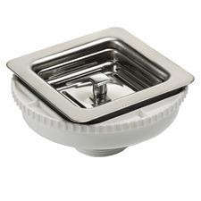 Oliveri Professional Square Sink Basket Waste