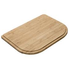 Petite Half Bowl Bamboo Kitchen Sink Chopping Board