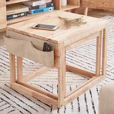 2 Piece Dice Nesting Coffee Table Set