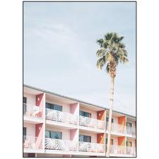 Palm Springs Portrait Printed Wall Art