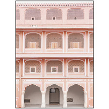 India Pink II Printed Wall Art