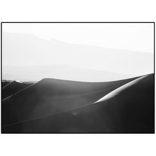 Imperial Dunes Monochrome Printed Wall Art