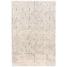 Cream Reality Wool-Blend Rug