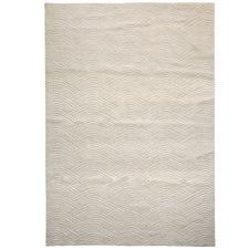 Cream Voyage Weave Wool-Blend Rug